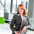 Beautiful business woman — Stock Photo