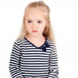 Little cute girl in studio — Stock Photo #5888902