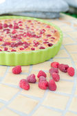 Raspberry pie — Stock Photo