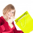 Beautiful woman with shopping bags — Stock Photo #5943008