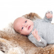 Stock Photo: Sweet little baby