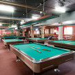billiard room — Stock Photo