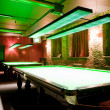 Stock Photo: Billiard room