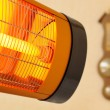 Infrared heater - Stockfoto