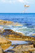 Clear water at sea coast. — Stock Photo
