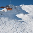 Ski resort Solden. Austria — Stock Photo #6015448