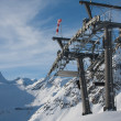 Props ski lifts. The resort of Solden. Austria - Stock Photo