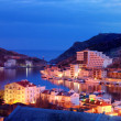 Stock Photo: Balaklavbay in night time
