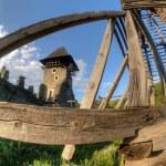 Nevytsky Castle in Zakarpattya, Ukraine — Stock Photo #5524748