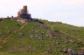 Old Ruins of Genoese Fortification in Balaklava — Stock Photo
