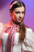 Portrait of an attractive young woman — Stock Photo