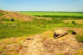 Stone Grave, Ukraine — Stock Photo