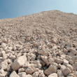 A mound of rubble — Stock Photo