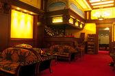Bar en el salón en el club de billar — Foto de Stock