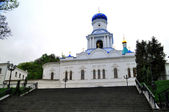 The Sviato-Pokrovska Church of the Sviatohirsk Lavra — Stock Photo