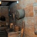 Interior ethno house — Stock Photo