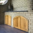 Outdoor kitchen - Foto de Stock