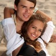 Couple in love young — Stockfoto