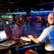 Dj mixes track in nightclub at party — Stock Photo #6591919