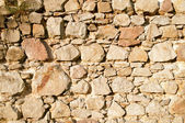 Surface of the stone wall — Stock Photo
