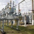 Stock Photo: Power transformer
