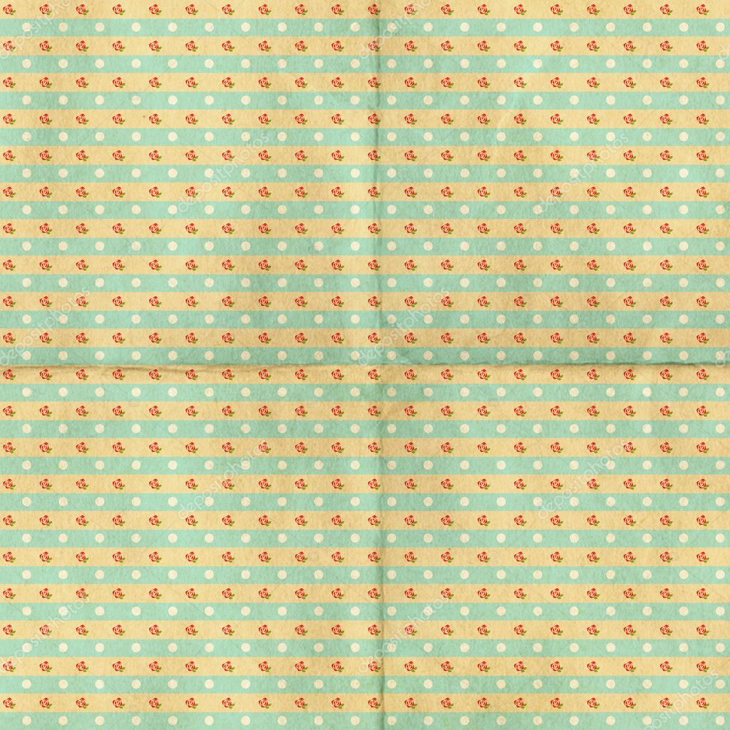 Vintage background from grunge paper, retro pattern — Stock Photo #6314811