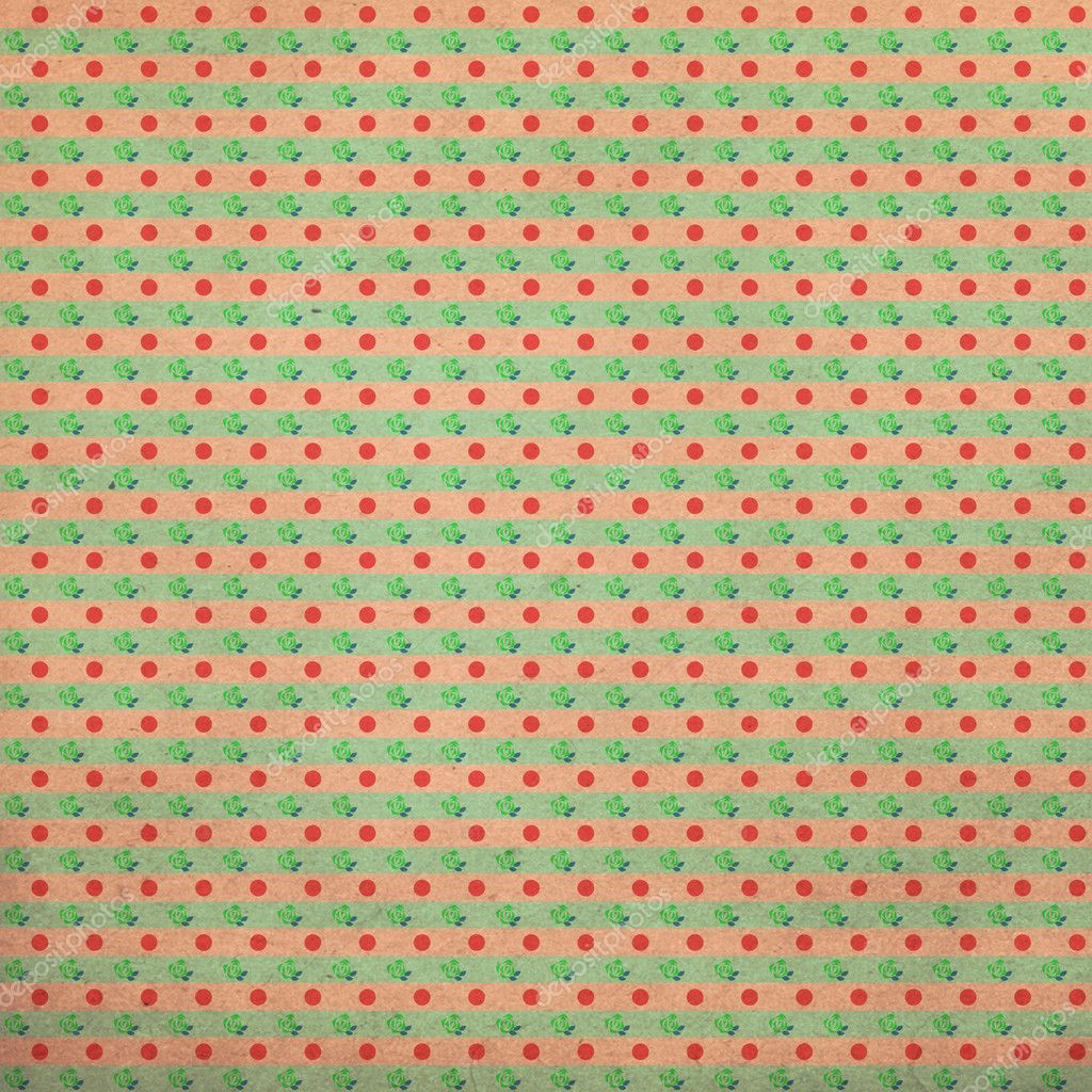 Vintage background from grunge paper, retro pattern   #6314819