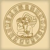 Vector Maya symbol — Stock Vector