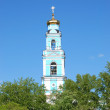 Belfry of the Ascension Church in Ekaterinburg, Russia — Stock Photo