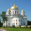 Novo-Tikhvin Nunnery in Yekaterinburg, Russia - Stock Photo