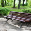 Wooden bench — Stock Photo #5644701