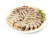 Marinated herring — Stock Photo