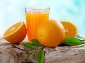 鲜橙汁 — 图库照片