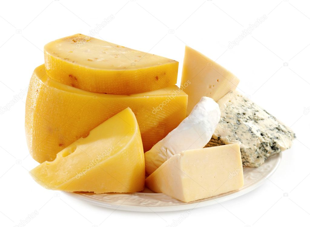 Cheese plate — Stock Photo #6556409