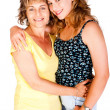 Mother and daughter embracing each other — Stock Photo #5888847