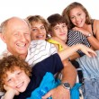 Happy family having fun together — Stock Photo #5944345