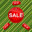 Sale and discount tags — Foto Stock
