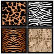 Animal skin texture - Stock Photo