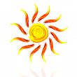 Abstract sun — Stock Photo