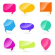 Set of colorful speech bubbles — Stock Photo #5962633