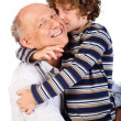 Grandfather and grandson — Stock Photo #5969816