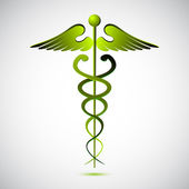 Vector caduceus — Stock Photo