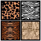 Animal skin texture — Stock Photo