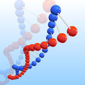 Illustration of dna — Stock Photo