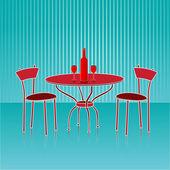 отель стул — Стоковое фото