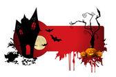 Scary halloween night — Stock Photo