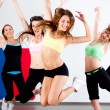 Enthusiastic group of women having fun — Stock Photo #6651081