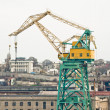 Stock Photo: Powerful shipbuilding shipyard