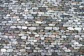 Cobbled roadway texture — Stock Photo