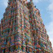 Hindu temple tower — Stock Photo